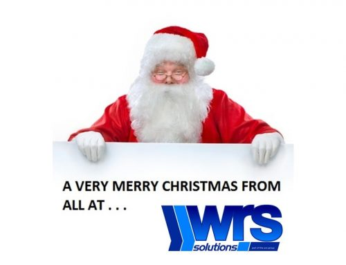A very merry Christmas from all at WRS Solutions!